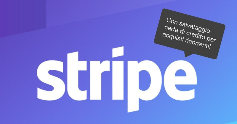 Page e commerce stripe