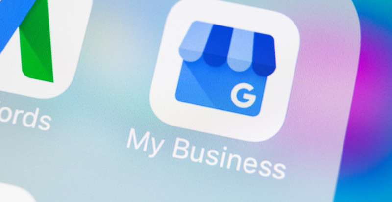 Page google mybusiness