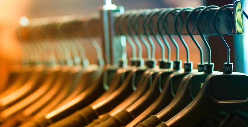 Page banner abbigliamento