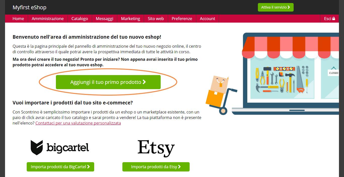 Realizzazione sito e commerce Terrara Boutique Shop Online